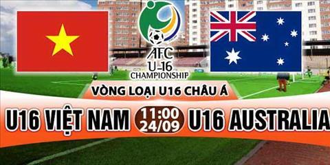 LINK XEM TRUC TIEP U16 Viet Nam vs U16 Australia 11h00 ngay 24/9 (VL U16 chau A 2018)