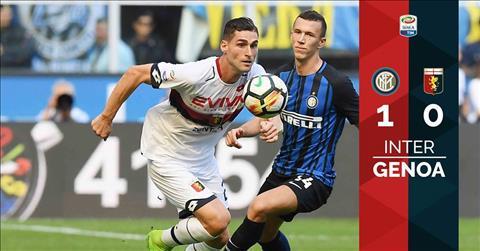Inter Milan 1-0 Genoa: Thang loi nhoc nhan