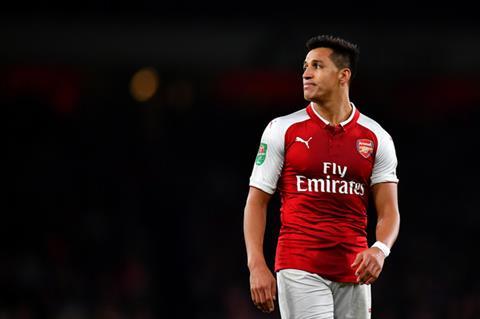 Arsenal nham tien dao Anthony Martial thay Sanchez hinh anh
