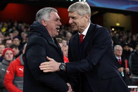 Arsenal se khong bo nhiem HLV Carlo Ancelotti thay Wenger hinh anh 2