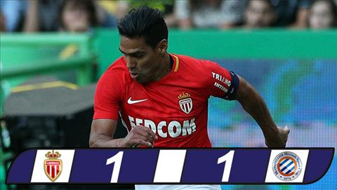 Monaco 1-1 Montpellier Nha DKVD mat diem vi nguoi cu hinh anh