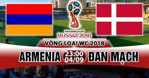 Nhan dinh Armenia vs Dan Mach 23h00 ngay 49 (VL World Cup 2018) hinh anh