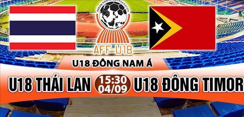 Nhan dinh U18 Thai Lan vs U18 Dong Timor 15h30 ngay 49 (Giai U18 Dong Nam A 2017) hinh anh