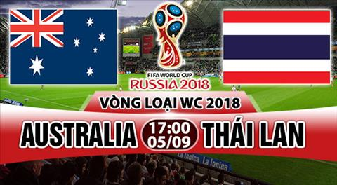 Nhan dinh Australia vs Thai Lan 17h00 ngay 59 (VL World Cup 2018) hinh anh