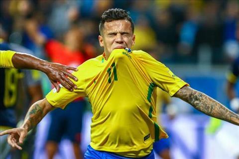 Ronaldinho len tieng ve tien ve Coutinho  hinh anh 2
