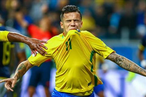 HLV Brazil tiep tuc to Liverpool che giau su that ve Coutinho hinh anh