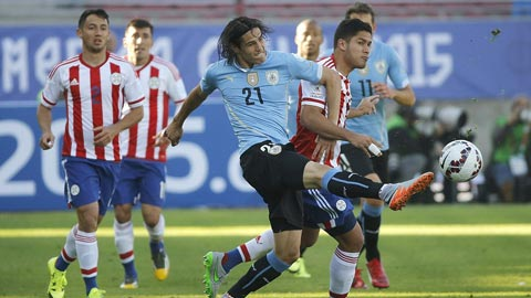 Nhan dinh Paraguay vs Uruguay 07h00 ngay 69 (VL World Cup 2018) hinh anh