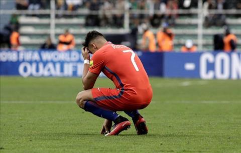 Alexis Sanchez chan doi truoc nguy co vang mat o World Cup 2018 hinh anh