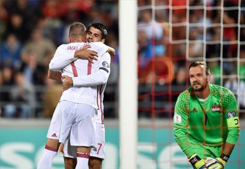 Liechtenstein 0-8 TBN Chien thang lich su cua La Roja hinh anh