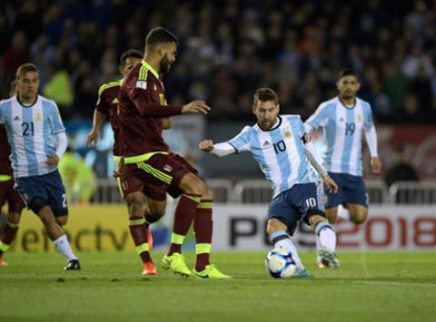 Argentina 1-1 Venezuela (vong loai World Cup 2018)