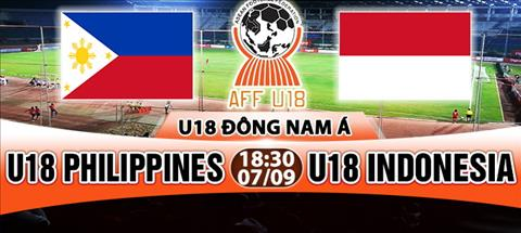 Nhan dinh U18 Philippines vs U18 Indonesia 18h30 ngay 79 (Giai U18 Dong Nam A 2017) hinh anh