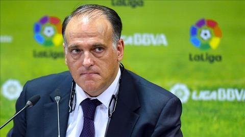 Man City chuan bi khoi kien chu tich Javier Tebas cua La Liga vi nhung loi cong kich khong ngung