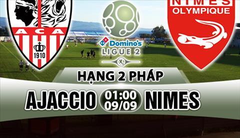 Nhan dinh Ajaccio vs Nimes 01h00 ngay 99 (Hang 2 Phap 201718) hinh anh