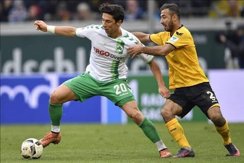 Nhan dinh Dynamo Dresden vs Greuther 23h30 ngay 89 (Hang 2 Duc 201718) hinh anh