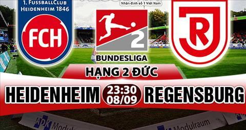 Nhan dinh Heidenheim vs Regensburg 23h30 ngay 89 (Hang 2 Duc 201718) hinh anh