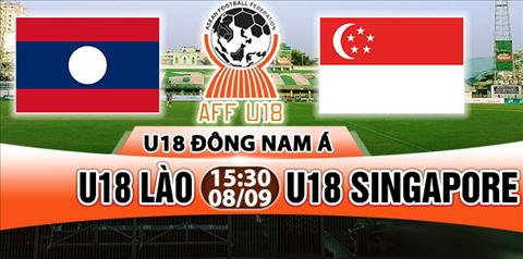 Nhan dinh U18 Lao vs U18 Singapore 15h30 ngay 89 (U18 Dong Nam A 2017) hinh anh