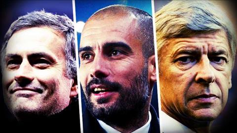 Mourinho Guardiola Wenger