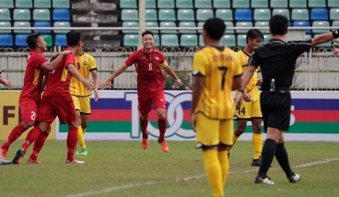 U18 Viet Nam thang lon Vui thoi, dung vui qua hinh anh