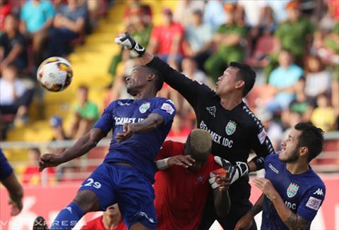 Hai Phong 0-2 Binh Duong Lach Tray that thu hinh anh