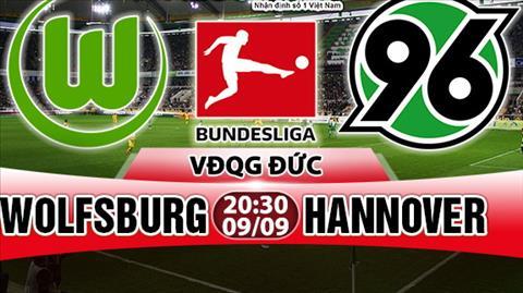 Nhạn dịnh Wolfsburg vs Hannover 20h30 ngày 99 (Bundesliga 201718) hinh anh