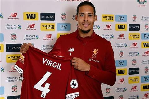Virgil van Dijk toi Liverpool