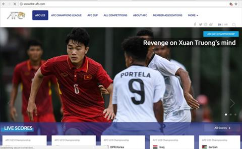 AFC tiet lo Xuan Truong tung uoc co the dam thu mon Han Quoc hinh anh