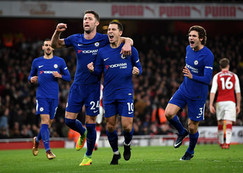 Lich thi dau Chelsea vs Arsenal ban ket luot di Leauge Cup  hinh anh