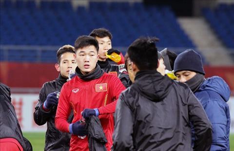 U23 Viet Nam vs U23 Han Quoc Thu quan Xuan Truong noi gi truoc gio G hinh anh