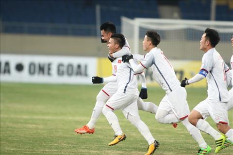 Cham diem U23 Viet Nam 1-2 U23 Han Quoc Diem 9 cho Quang Hai hinh anh