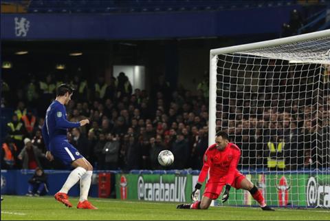 Chelsea 0-0 Arsenal Phung phi co hoi, The Blues bat luc tai ban ket League Cup hinh anh 2
