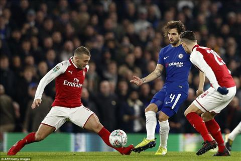Chelsea 0-0 Arsenal Phung phi co hoi, The Blues bat luc tai ban ket League Cup hinh anh 3