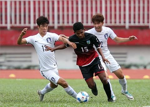 Muon co diem truoc Han Quoc, U23 Viet Nam hay hoc tu Thai Lan va Dong Timor hinh anh