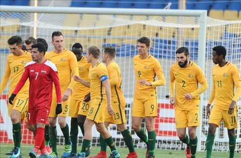 Thang thuyet phuc Syria, U23 Australia da san sang nghenh chien U23 Viet Nam hinh anh