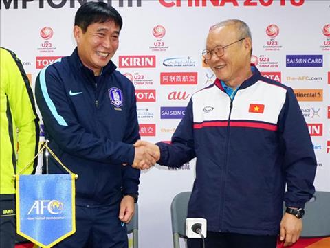 HLV U23 Han Quoc an tuong voi cach choi bong cua U23 Viet Nam hinh anh