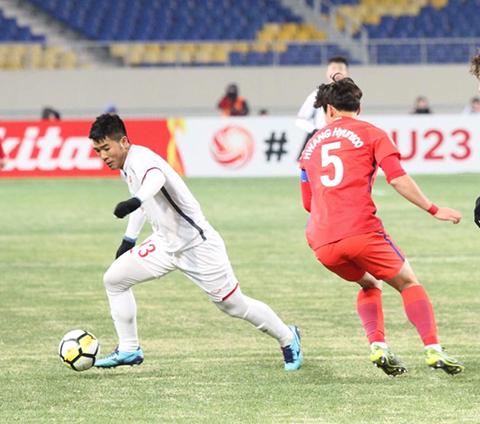 Ket qua U23 Viet Nam vs U23 Han Quoc bang D U23 Chau A hinh anh