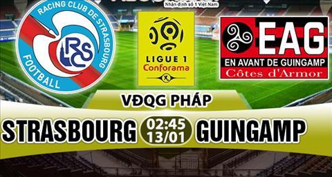 Nhan dinh Strasbourg vs Guingamp 02h45 ngay 131 (Ligue 1 201718) hinh anh