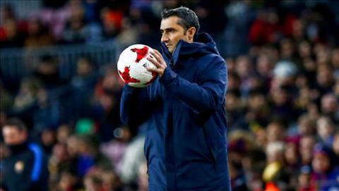 HLV Valverde khen hang cong Barca sau man huy diet Celta hinh anh
