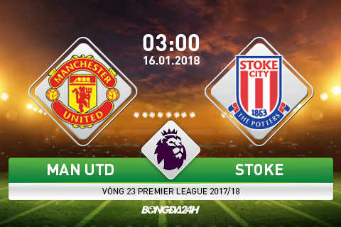 Preview Man Utd vs Stoke
