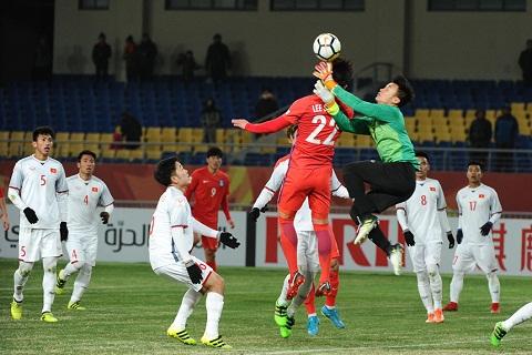 Bui Tien Dung vs U23 Han Quoc