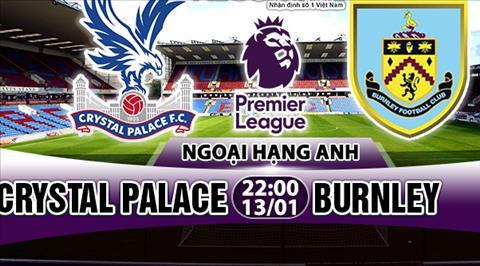 Nhan dinh Crystal Palace vs Burnley 22h00 ngày 131 (Premier League 201718) hinh anh