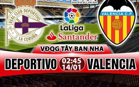 Nhan dinh Deportivo vs Valencia 02h45 ngay 141 (La Liga 201718) hinh anh