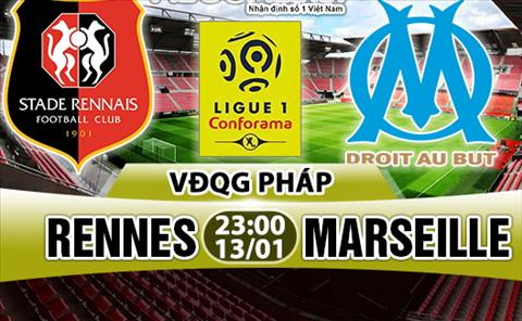 Nhan dinh Rennes vs Marseille 23h00 ngay 131 (Ligue 1 201718) hinh anh
