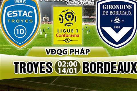 Nhan dinh Troyes vs Bordeaux 02h00 ngay 141 (Ligue 1 201718) hinh anh