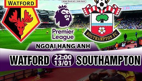 Nhan dinh Watford vs Southampton 22h00 ngay 131 (Premier League 201718) hinh anh