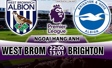 Nhan dinh West Brom vs Brighton 22h00 ngay 131 (Premier League 201718) hinh anh