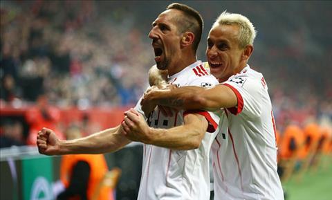 Tong hop: Leverkusen 1-3 Bayern Munich (Vong 18 Bundesliga 2017/18)