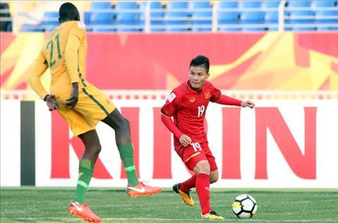 Cham diem U23 Viet Nam 1-0 U23 Australia Diem 10 cho Quang Hai hinh anh