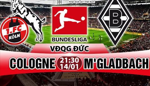 Nhan dinh Cologne vs Gladbach 21h30 ngay 141 (Bundesliga 201718) hinh anh