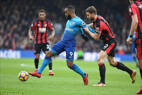 Du am Bournemouth 2-1 Arsenal Khung hoang that roi Phao thu oi! hinh anh 2