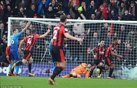 Du am Bournemouth 2-1 Arsenal Khung hoang that roi Phao thu oi! hinh anh 3
